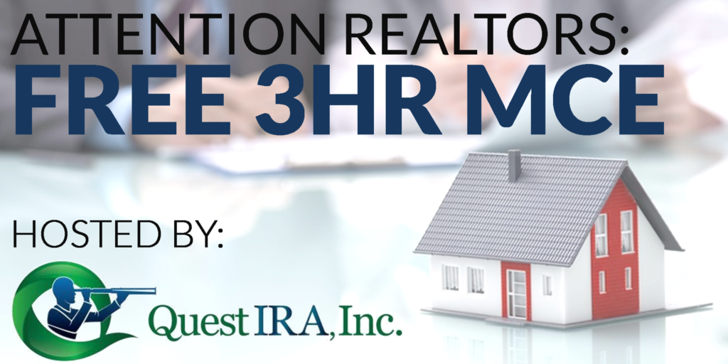 FREE 3 Hour MCE Class for Realtors