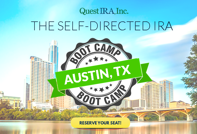 Self-Directed IRA Boot Camp – Austin Edition