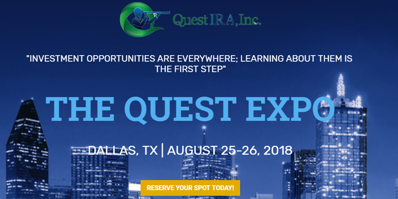 Quest EXPO – Dallas, TX