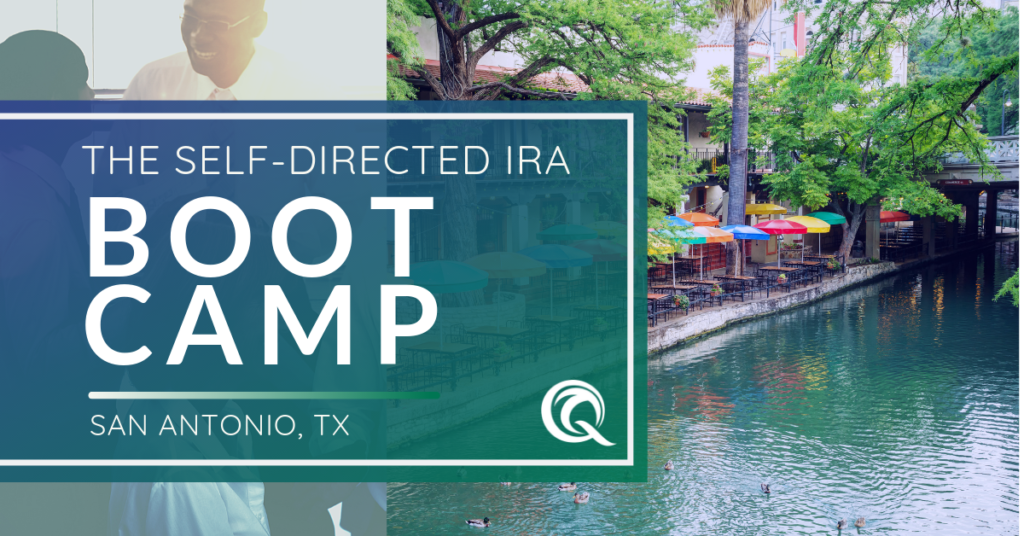 Self-Directed IRA Boot Camp: San Antonio Edition