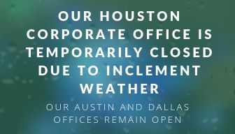 Houston Office Closed