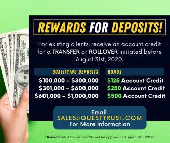 Rewards for Deposits!