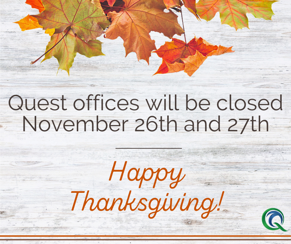Offices Closed: Thanksgiving