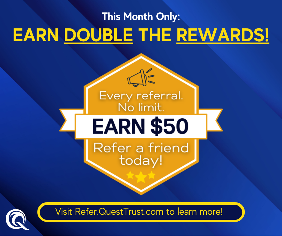 This Month Only: Earn DOUBLE the REWARDS!