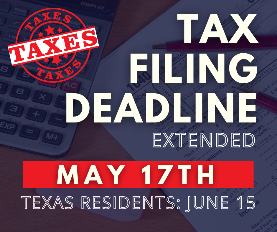 Tax Filing Deadline Extension