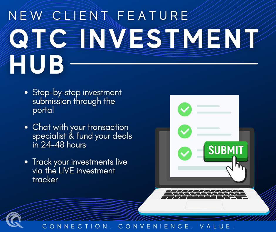 Introducing our new QTC Investment Hub!