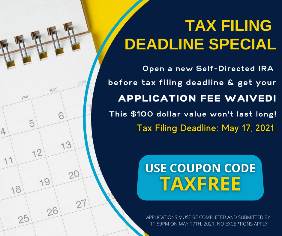 Tax filing deadline is right around the corner… and so are BIG SAVINGS