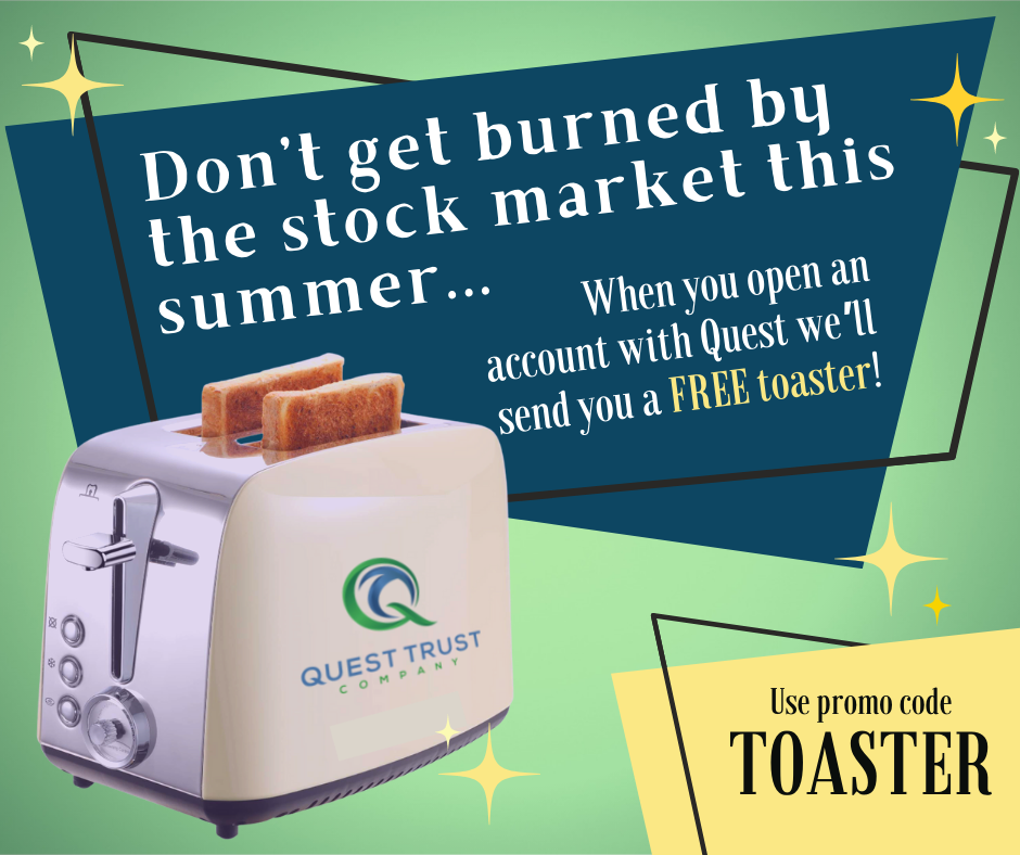 Get a free toaster with your new SDIRA!